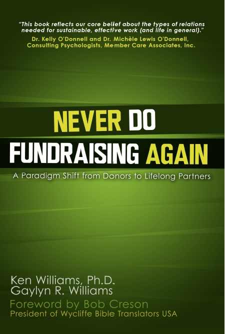 Never Do Fundraising Book Cover